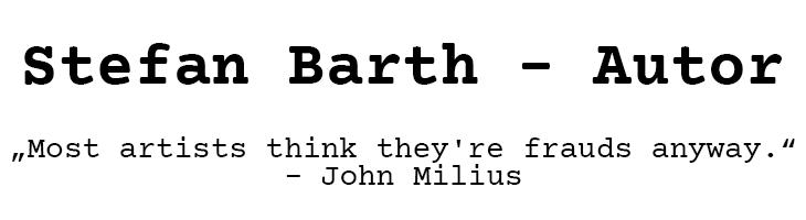 Stefan Barth | Autor